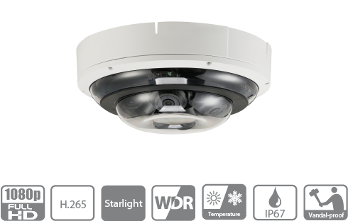 Dahua DH-IPC-PDBW5831-B360 360 degree CCTV Camera