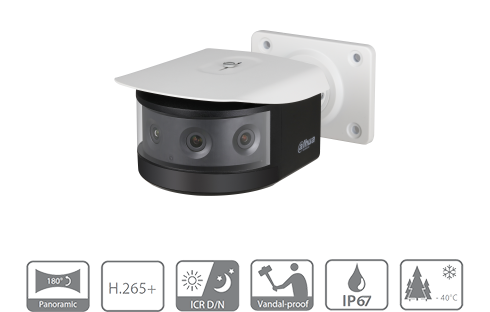 Dahua DH-IPC-PFW8802-A180 180 Degree Multi-Sensor Camera